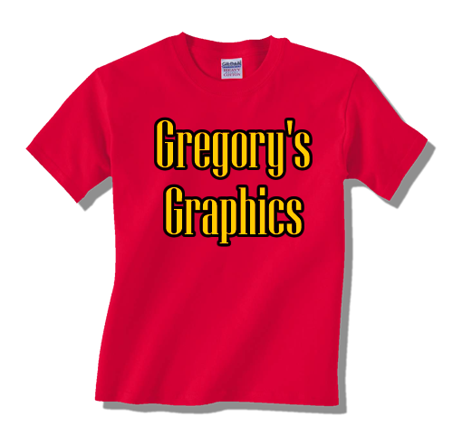 Gregorys Graphics - Screen Printing - Embroidery - Signs - Yard Signs - Printing